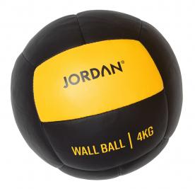 Jordan Fitness 4kg Wall Ball - Oversize Medicine Ball (yellow)