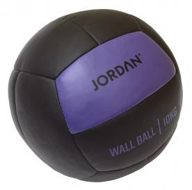 Jordan Fitness 10kg Wall Ball - Oversize Medicine Ball (purple)
