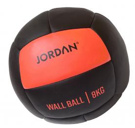Jordan Fitness 8kg Wall Ball - Oversize Medicine Ball (orange)
