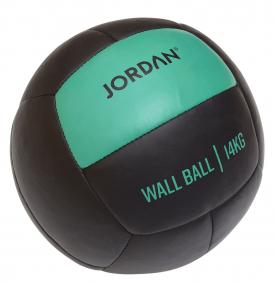 Jordan Fitness 14kg Wall Ball - Oversize Medicine Ball (green)