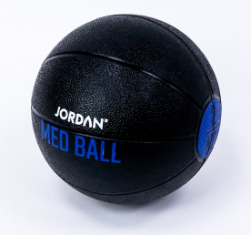Jordan Fitness 2kg Medicine Ball - Black/Blue