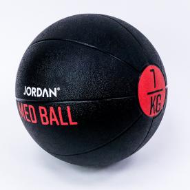 Jordan Fitness 7kg Medicine Ball - Black/Red