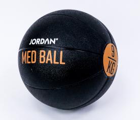 Jordan Fitness 9kg Medicine Ball - Black/Amber
