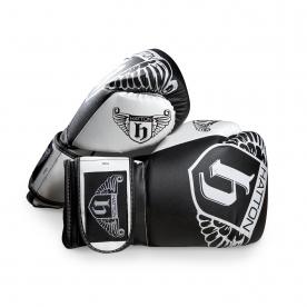 Hatton PU Boxing Glove (pair) Black 16oz