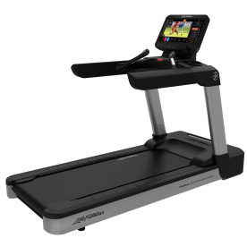 Life Fitness Integrity DST Treadmill WIFI - Artic Silver