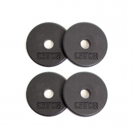 Body Power 1.25Kg Pro-Style Standard Weight Plates (x4)