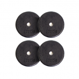 Body Power 3.75Kg Pro-Style Standard Weight plates (x4)