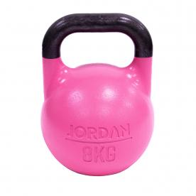 Jordan Fitness 8kg Competition Kettlebell - Pink
