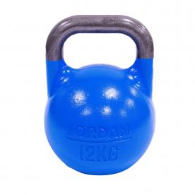Jordan Fitness 12kg Competition Kettlebell - Blue
