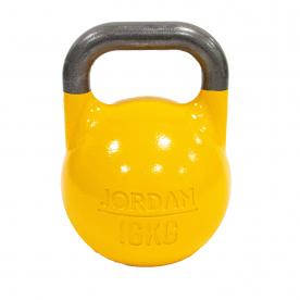 Jordan Fitness 16kg Competition Kettlebell - Yellow
