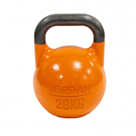 Jordan Fitness 28kg Competition Kettlebell - Orange