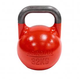 Jordan Fitness 32kg Competition Kettlebell - Red