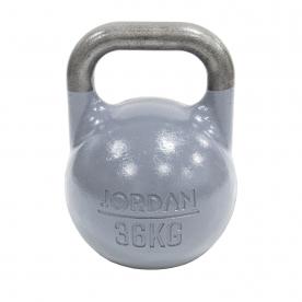 Jordan Fitness 36kg Competition Kettlebell - Grey