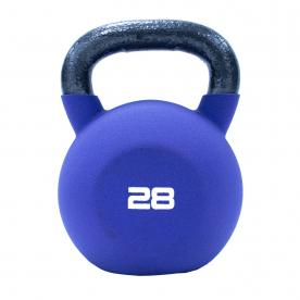 Jordan Fitness 28kg Purple Neoprene Covered Kettlebell