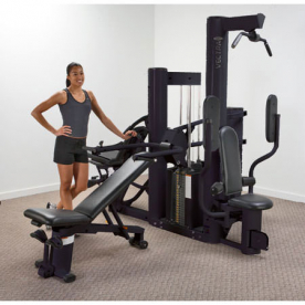 Vectra VX38 Multi Gym (Black Frame/Black Upholstery)