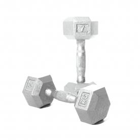 Body Power 7kg Hex Dumbbell (x2)