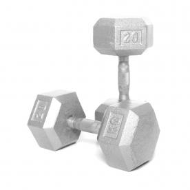 Body Power 20kg Hex Dumbbell (x2)