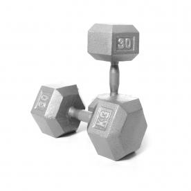 Body Power 30kg Hex Dumbbell (x2)