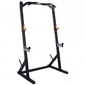 Powertec Workbench Half Rack - Black