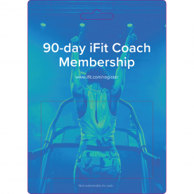 I-Fit 90 Day Membership Card