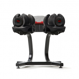 Bowflex 4-41Kg Bowflex SelectTech 1090i Dumbbells (Pair) & SelectTech Dumbbell Stand