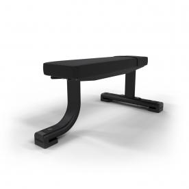 Jordan Fitness Flat Bench - Black