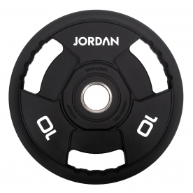 Jordan Fitness 10kg Classic Urethane Olympic Disc (x2)