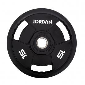 Jordan Fitness 15kg Classic Urethane Olympic Disc (x1)