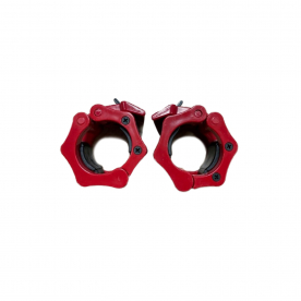 Olympic Quick Lock Collars - Red (Pa