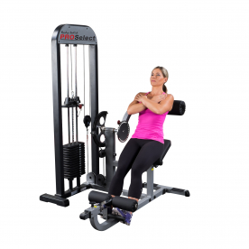 Body-Solid Pro-Select Ab/Back Machine 410lbs