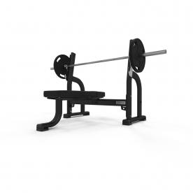 Jordan Fitness Olympic Flat Bench - Black