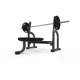 Jordan Fitness Olympic Flat Bench - Grey