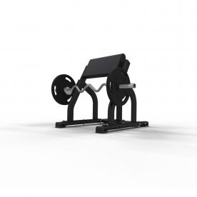 Jordan Fitness Seated Preacher Curl Bench - Black