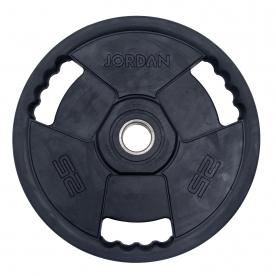 Jordan Fitness 25kg Classic Premium Rubber Olympic Disc (x1)
