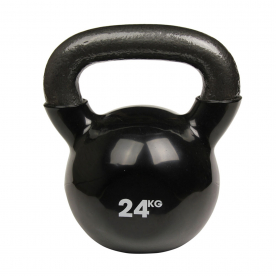 Fitness-MAD 24kg Kettlebell - Black
