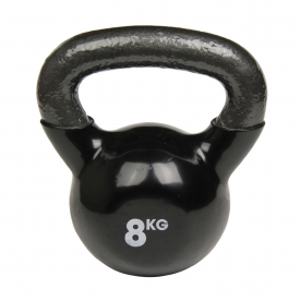 Fitness-MAD 8kg Kettlebell - Black