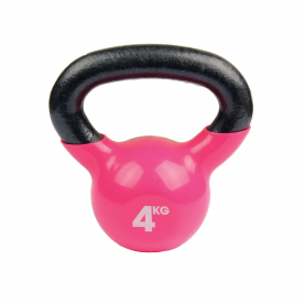 Fitness-MAD 4kg Kettlebell - Pink