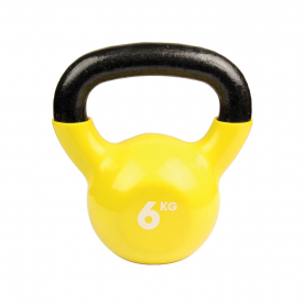 Fitness-MAD 6kg Kettlebell - Yellow