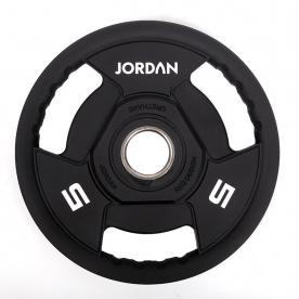 Jordan Fitness 5kg Classic Urethane Olympic Disc (x4)