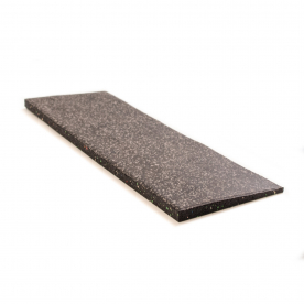 15mm Floor Tile Ramp Edge x1 - Black