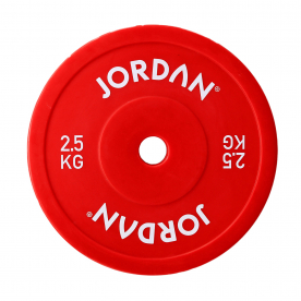 Jordan Fitness 2.5kg Olympic Hollow Technique Plate - Red (x2)