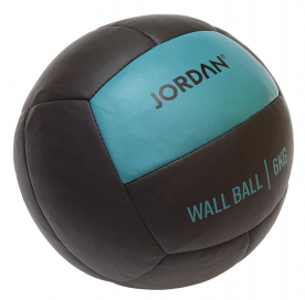 Jordan Fitness 6kg Wall Ball - Oversize Medicine Ball (Teal) - Northampton Ex-Display Model (Collection Only)