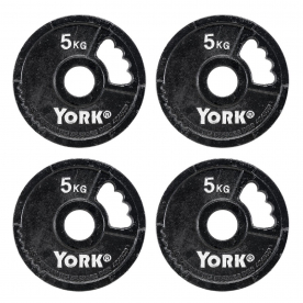 5kg G2 Cast Iron Olympic Plate (x4%2