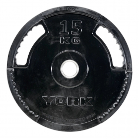 15kg G2 Rubber Thin Line Olympic Plate