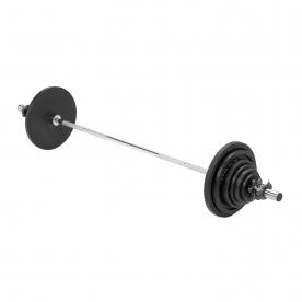 140kg Cast Iron Olympic Weight Set *DN