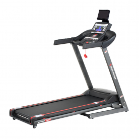Body Power Sprint T300 Folding Treadmill with Tablet Holder - Northampton Ex-Display Model (Click and Collect Only)
