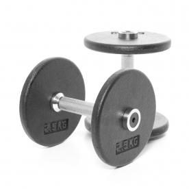 Body Power 5Kg Pro-style Dumbbells (x2)
