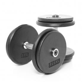 Body Power 17.5Kg Pro-style Dumbbells (x2)