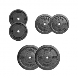 100kg Standard Weight Plate Set (2x