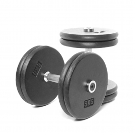 Body Power 20Kg Pro-style Dumbbells (x2)